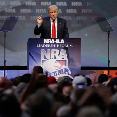 Donald Trump at NRA Leadership Forum