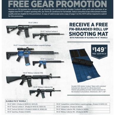 FN America FN 15 spring promo poster