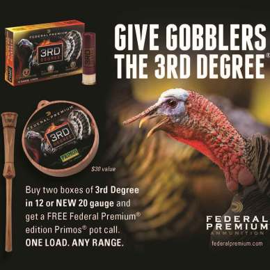 Federal Premium 3rd Degree Turkey load ad