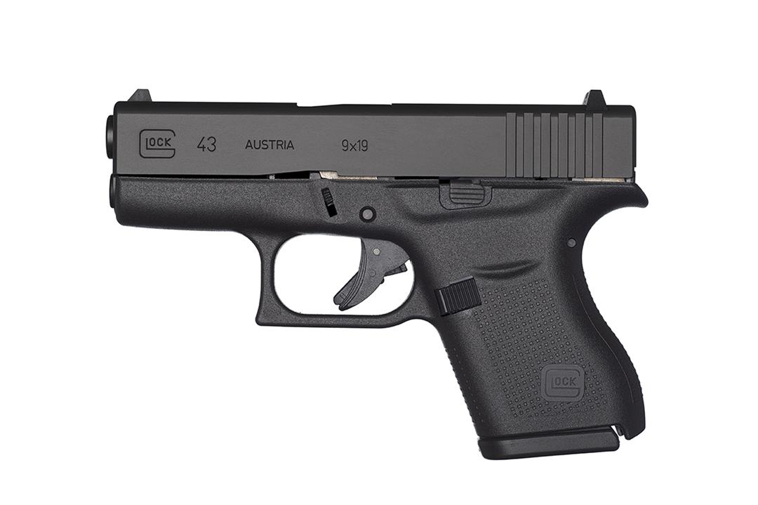 Glock G43 left side