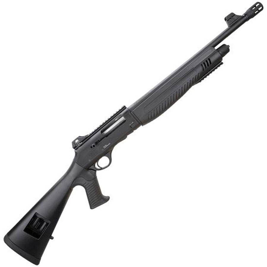 Black synthetic semiautomatic shotgun