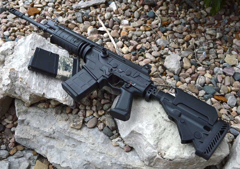 Galil Ace .308 rifle left side