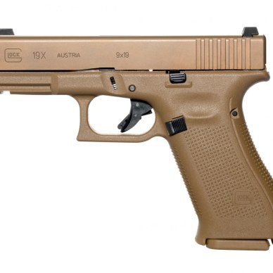 Glock 19X with nPVD slide coating