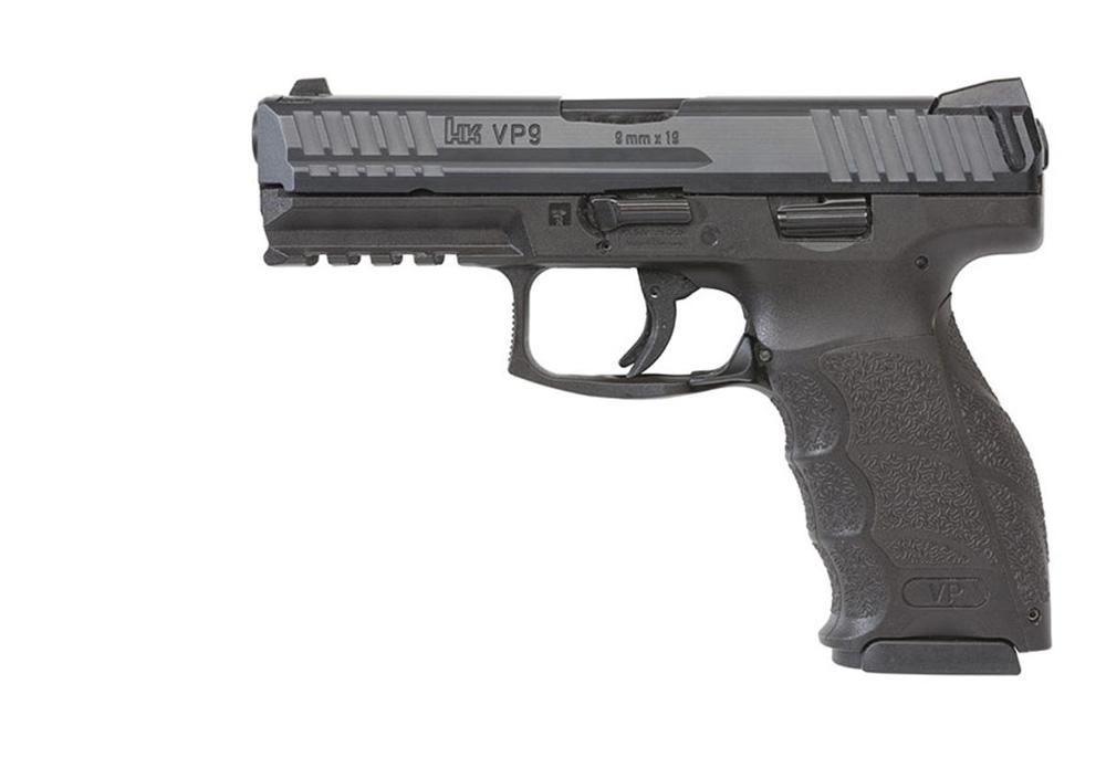 HK VP9 pistol left side