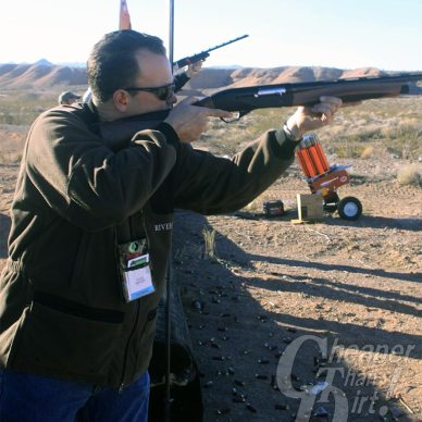 Ace Luciano shooting Benelli Ethos