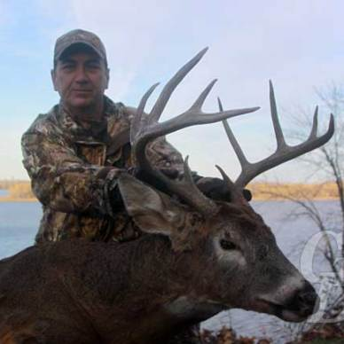 Illinois Whitetail Buck on Public Land