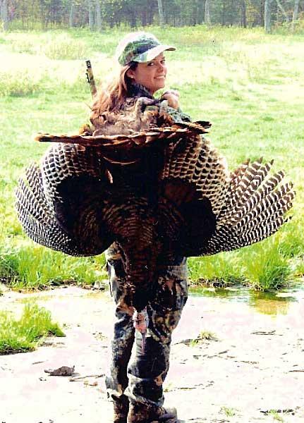 Mossberg 500 Lisa Methany and Turkey