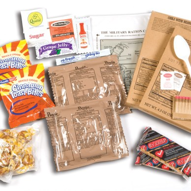 Contents of a an MRE
