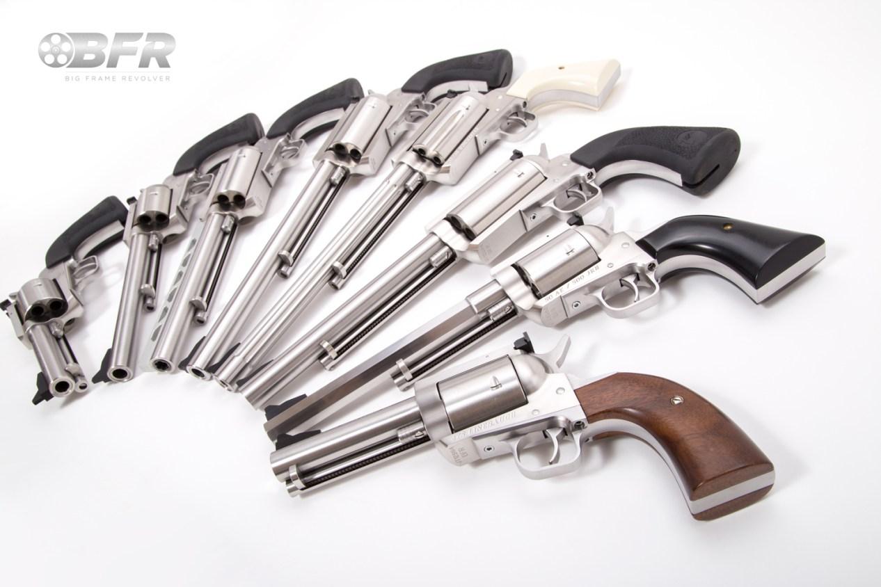 Magnum Research Big Frame Revolvers (BFR)
