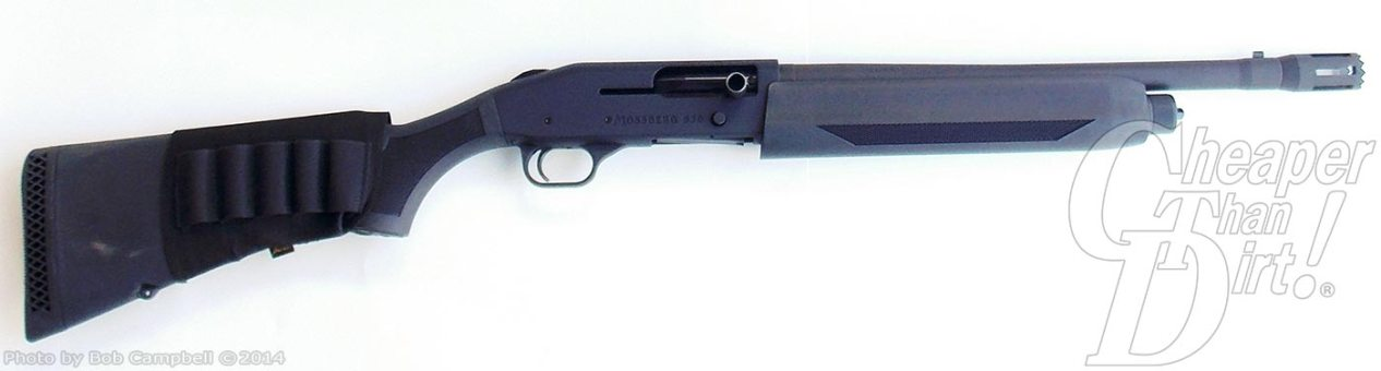 Mossberg's 930 Tactical 12-Gauge Shotgun - The Shooter's Log