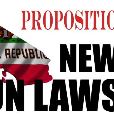 Proposition 63 new California laws sign