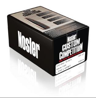 Nosler Custom Competition Ammunition