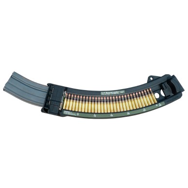 16.5-inch loose round magazine loader for AR-15 style magazines