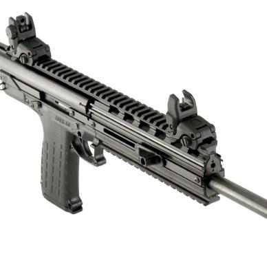 Picture shows the Kel-Tec CMR-30 carbine.