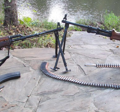 RPK and AKM Machine guns