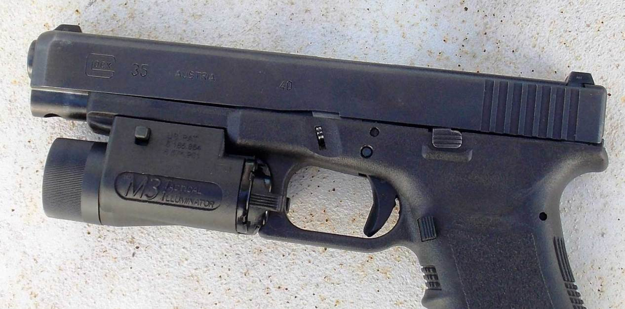 Glock 35 with M3 Tactical Illuminator