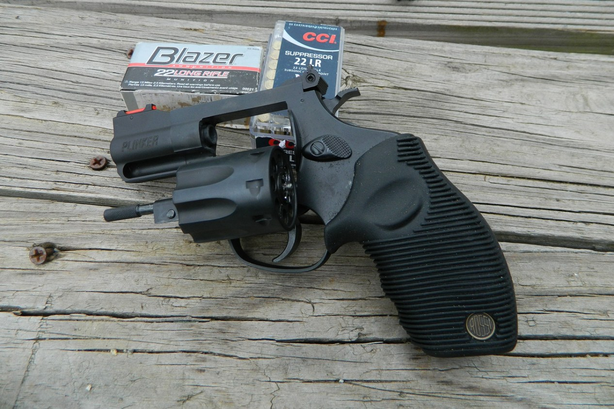 Review: Rossi Plinker  22 - The Shooter's Log