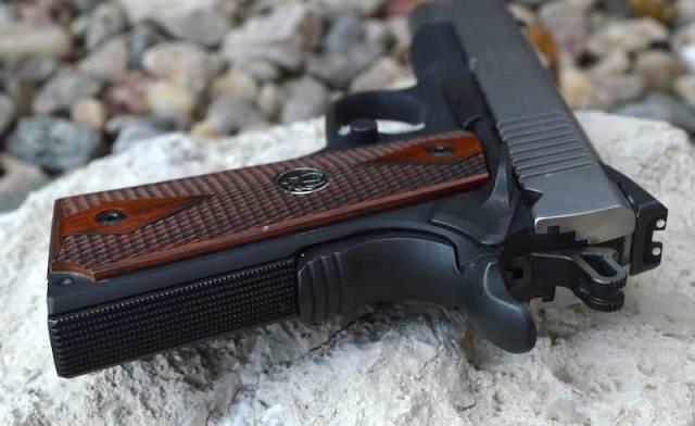 Alloy frame Ruger SR1911 pistol
