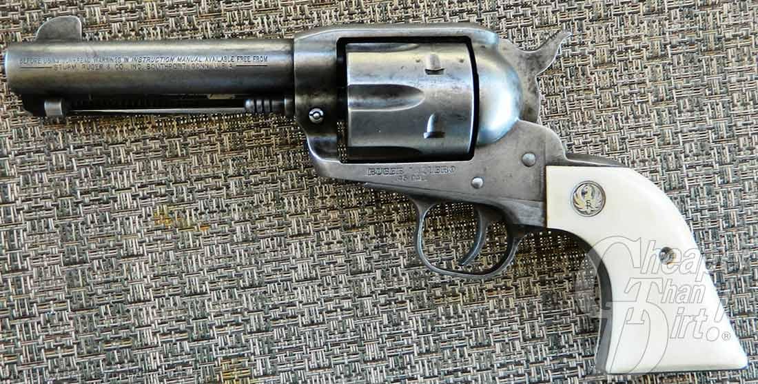 Ruger Vaquero: The Single-Action Cowboy Gun - The Shooter's Log