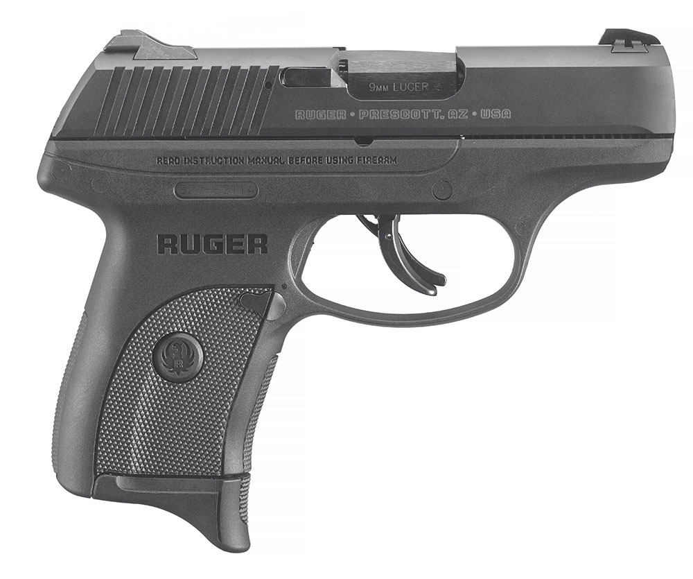 Right side detail of the Ruger LC9s Pro 9mm handgun