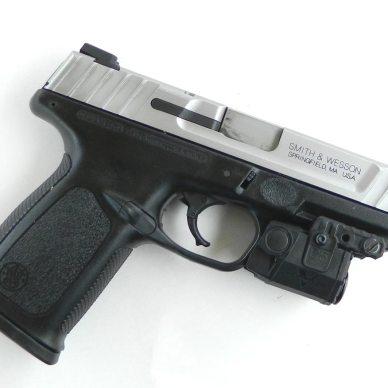 S&W SD 40 with laser