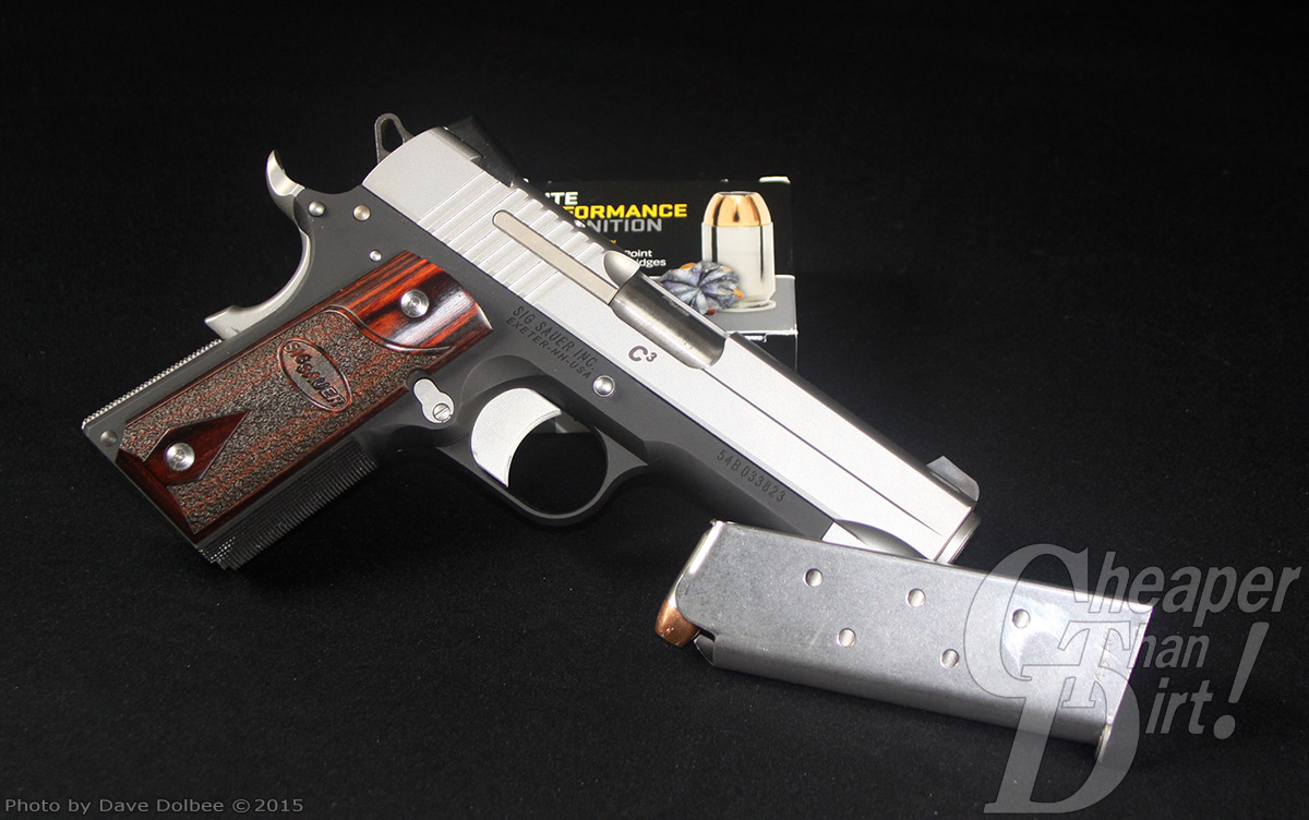 Throwback Thursday — SIG Sauer C3 1911 - The Shooter's Log