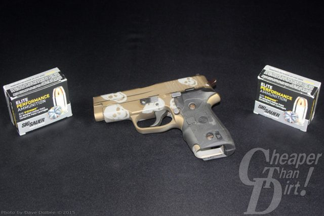 Sig Sauer 228 and SIG Elite Performance Ammunition