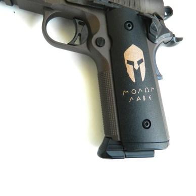 Grips on the SIG Sauer Spartan Airgun
