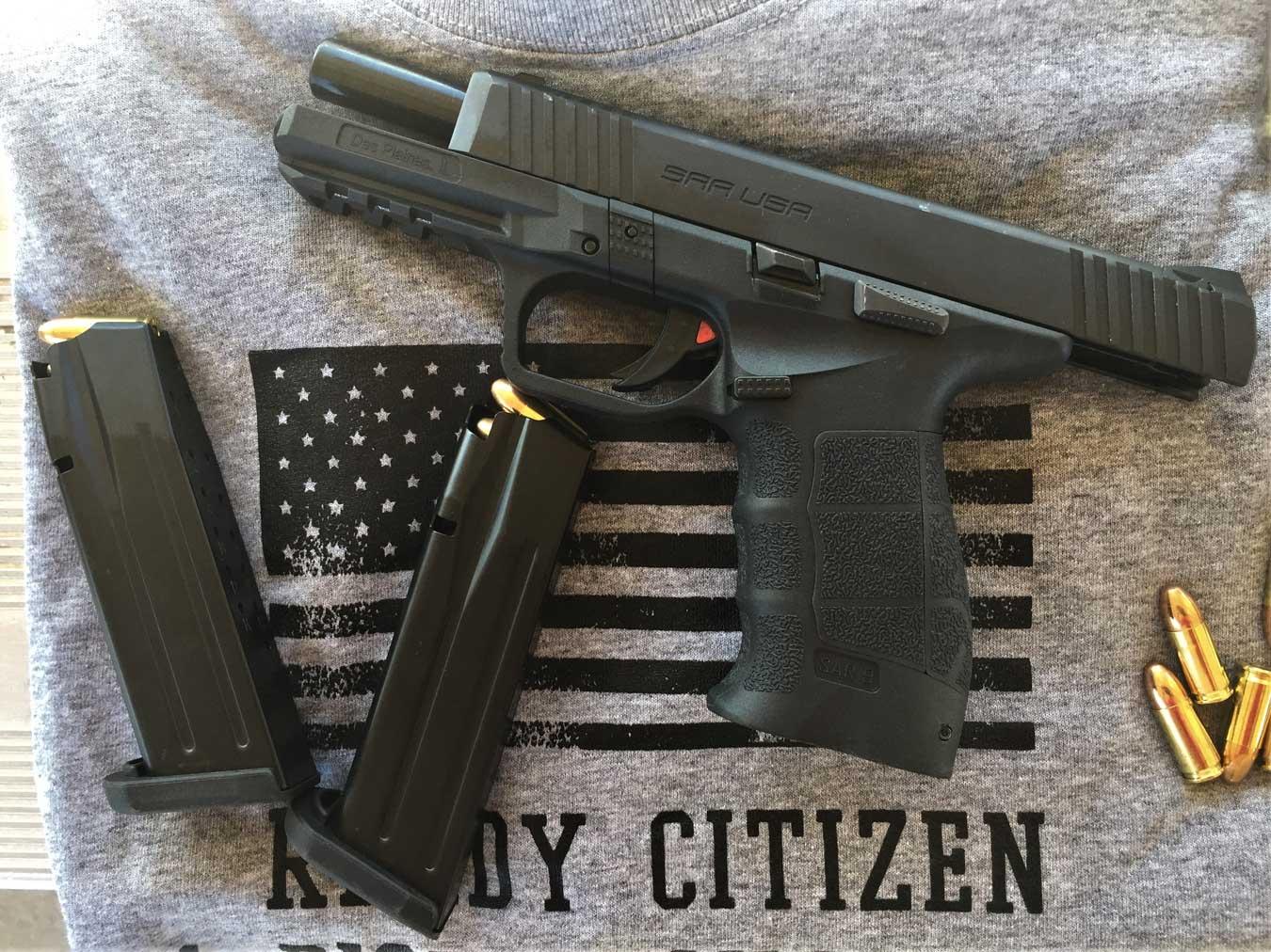 Review: Sarsilmaz SAR 9 Pistol - The Shooter's Log