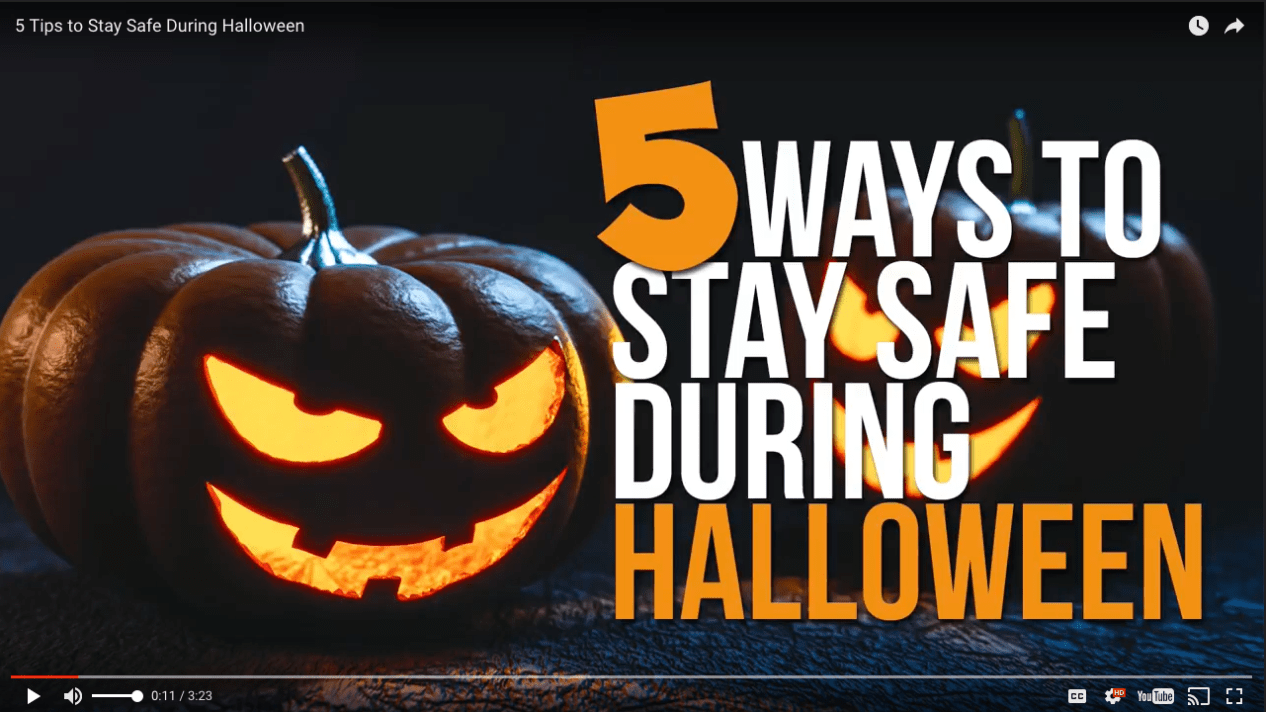 Texas Law Shield/U.S. Law Shield 5 Tips to Stay Safe During Halloween video