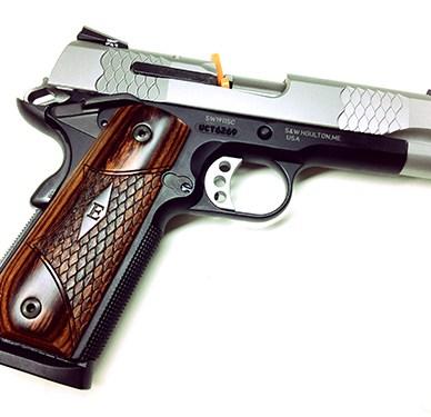 Smith & Wesson 108485 1911 SC Enhanced E-Series Pistol 45 ACP