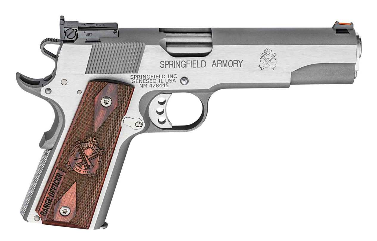 Springfield Range Officer 1911 Stainless right