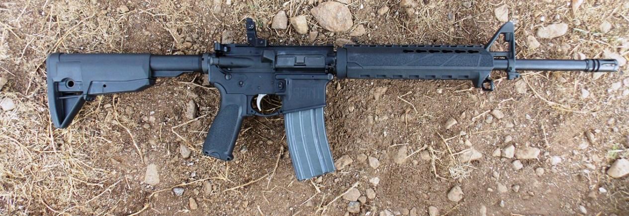 Springfield SAINT AR-15 rifle right profile
