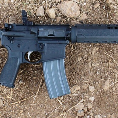 Springfield SAINT AR-15 rifle right profile