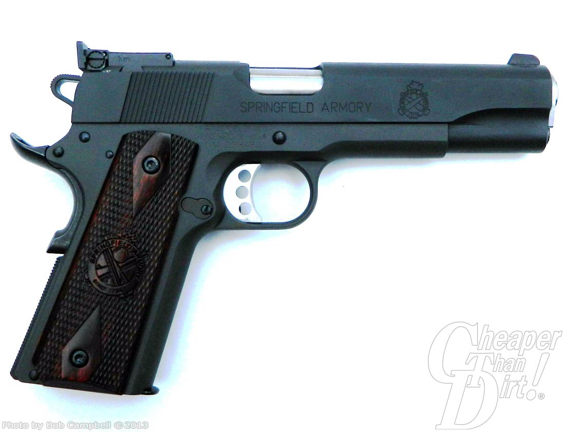 Springfield Range Officer  45 ACP Pistol Review - The