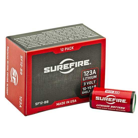 Surefire 123 Lithium 12 pack