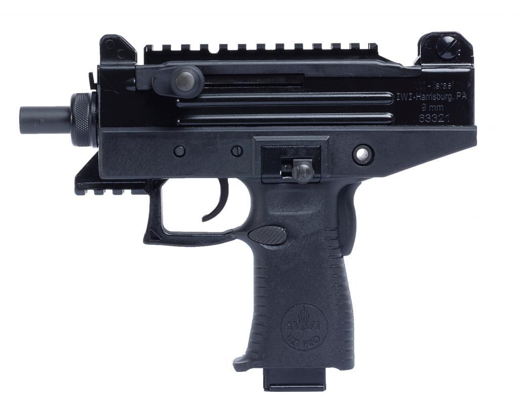 SHOT 2013: IWI Uzi Pro Pistol - The Shooter's Log