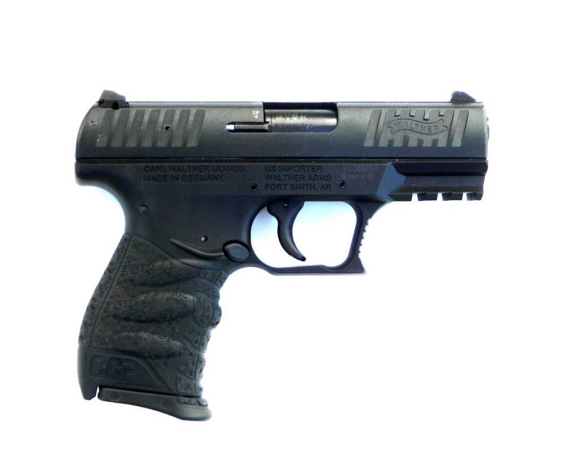 Walther CCP pistol right profile