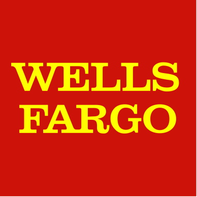 Wells Fargo Bank red and yellow logo