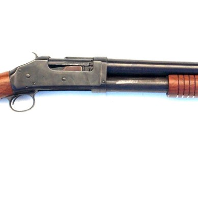 Right profile view of the Wild bunch shotgun