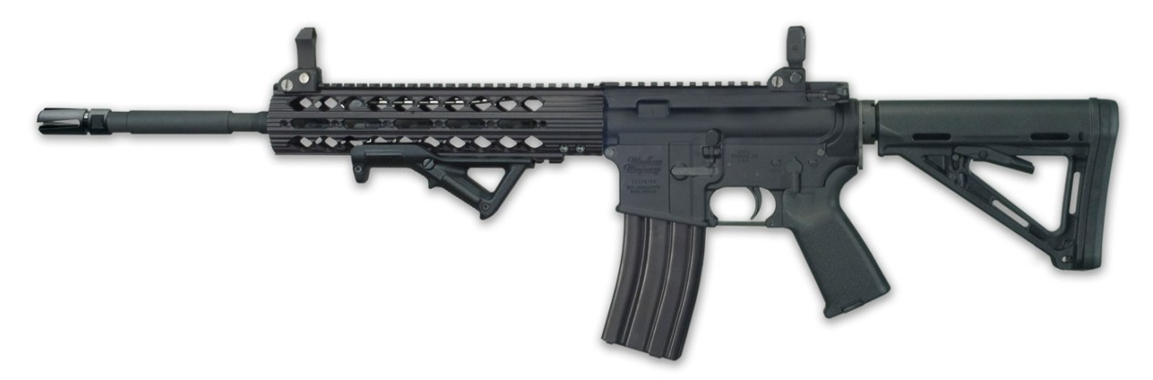 Windham Weaponry CDI AR-15 rifles black left side profile