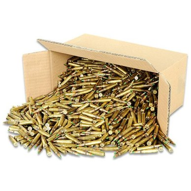 .223 NATO Lake City M855 FMJ 62 Grain Steel Penetrator Ammo