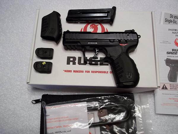 A brand new Ruger.