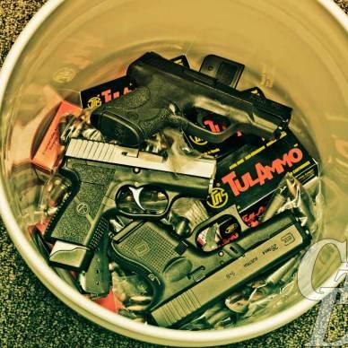 bucket guns