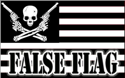 False Flag with Skull and Cross Bones