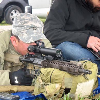 RAZAR Riflescope on a AR-15