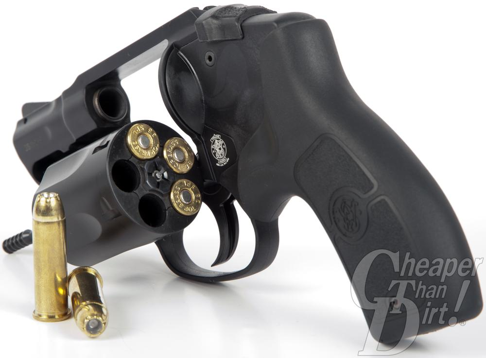 Smith & Wesson Bodyguard revolver in .38 Special.