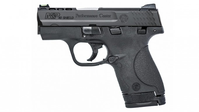 Performance Center Ported M&P Shield pistol