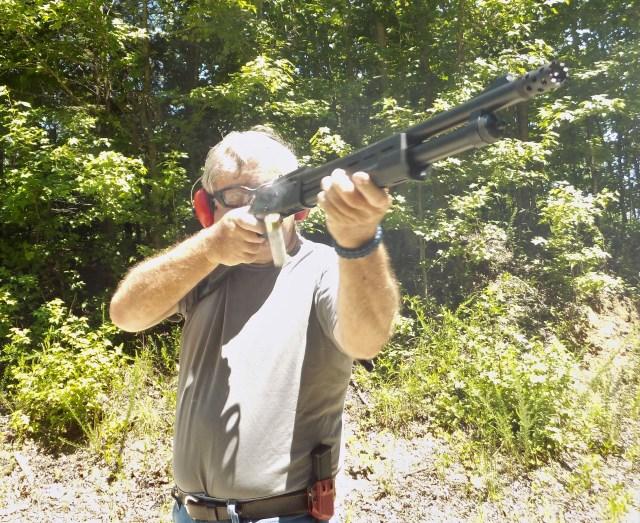 3-Gun Drill Shotgun