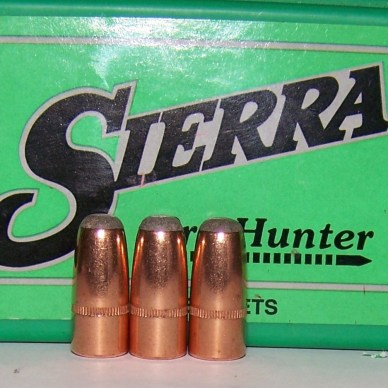 Sierra Hunter round-nose bullets